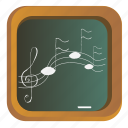 board, document, music, note, text icon