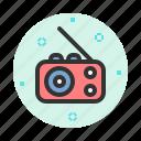 audio, media, music, radio, sound