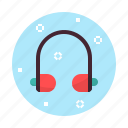 headphone, headset, music, sound