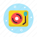 gramophone, music, phonograph, sound icon