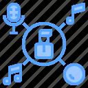 equipment, mixer, music, record, sound, stereo, studio icon