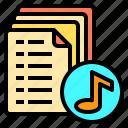 mixer, music, note, record, sound, stereo, studio