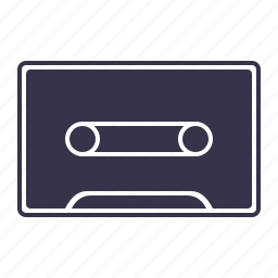 audio, cassette, multimedia, music, sound, tape icon