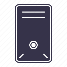 case, computer, hardware, laptop, pc, personal, technology, tower icon