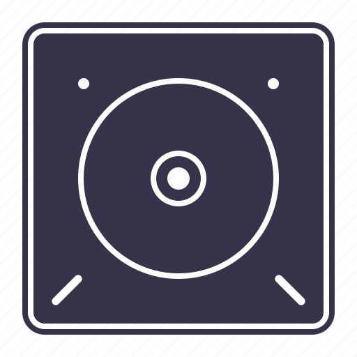 audio, bass, box, media, multimedia, music, play, player, sound, speaker, stereo, sub, volume icon