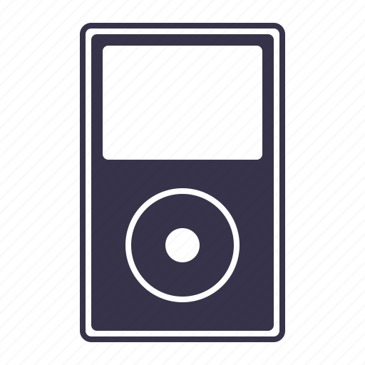 ipod, mp3, mp4, music, music player, screen, speaker icon