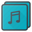 albume, play, audio, list, music