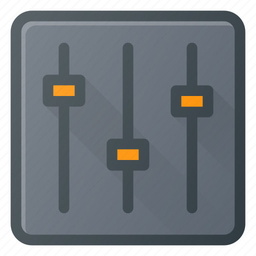 equalizer, graphic, music, settings, sound icon