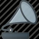 gramophone, music, old, player, vintage