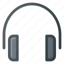 ear, headphone, headset, music icon