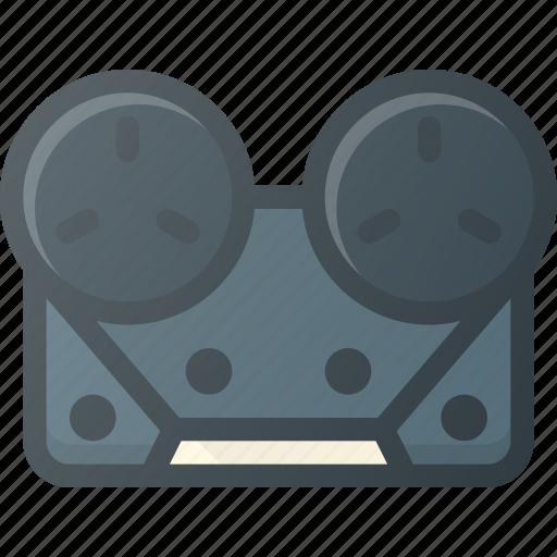 casette, old, player, retro, tape icon