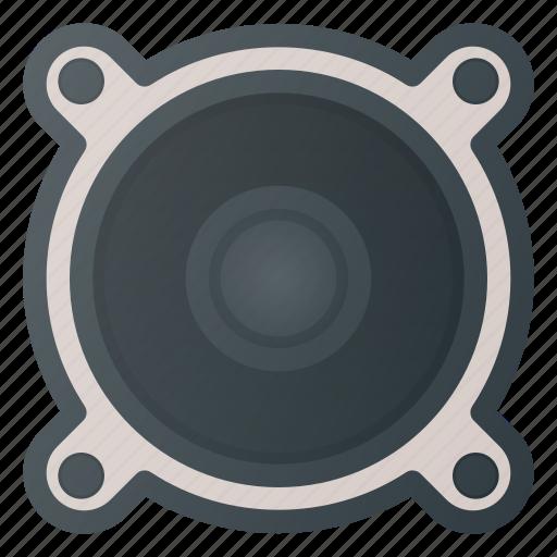Sound, music, audio, speaker, volume icon