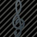 key, music, play, sound, violine