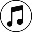 audio, music, music note, musical, note