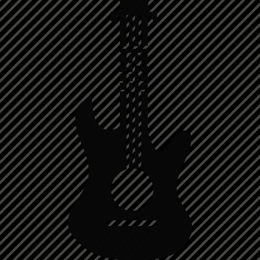 guitar, instrument, music, musical instrument icon
