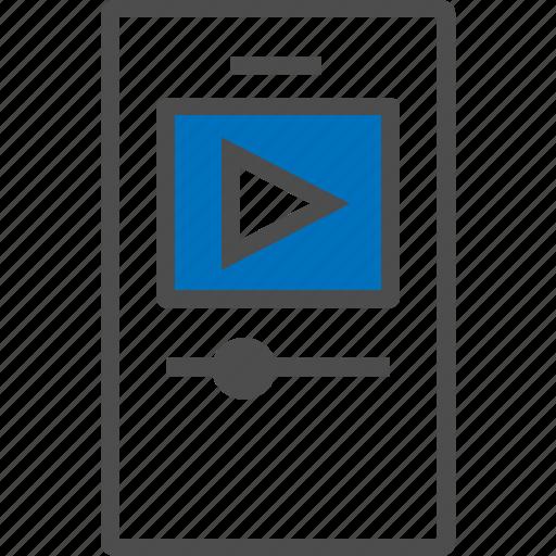 audio, audio handset, multimedia, music, player, sound, video icon