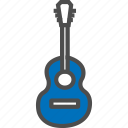 guitar, instrument, media, musical, rock, sound, tool icon