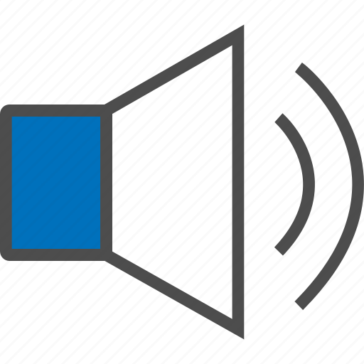 loud, media, music, sound, speaker, volume, web icon