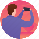 capturing photos, photographer, photography, photoshoot, professional photographer icon