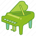 concert, grand, instrument, music, musical, piano, pianoforte icon