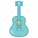 acoustic, classical, guitar, instrument, music, musical, string icon