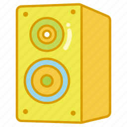 audio, dynamic, loud, loudspeaker, music, sound, speaker icon