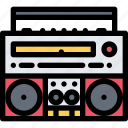 band, boombox, music, musical instrument, musical style, subculture icon