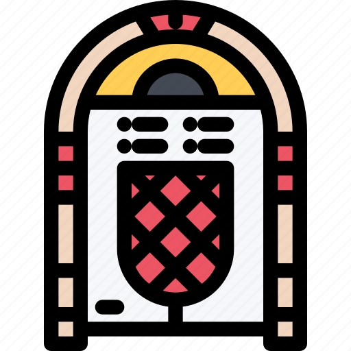 band, jukebox, music, musical instrument, musical style, subculture icon