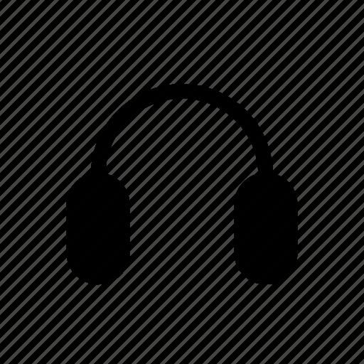 headphones, music controls icon