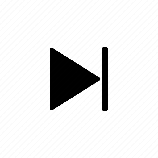 music controls, next icon
