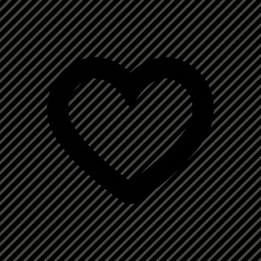 favorites, heart, like, love, music controls icon