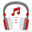 audio, dj, edm, headphones, music, radio, sound icon