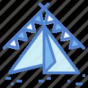 camping, sleep, tent, travel