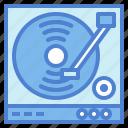 dj, music, turntable, vinyl