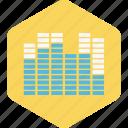 base, level, music, singing, song, volume icon