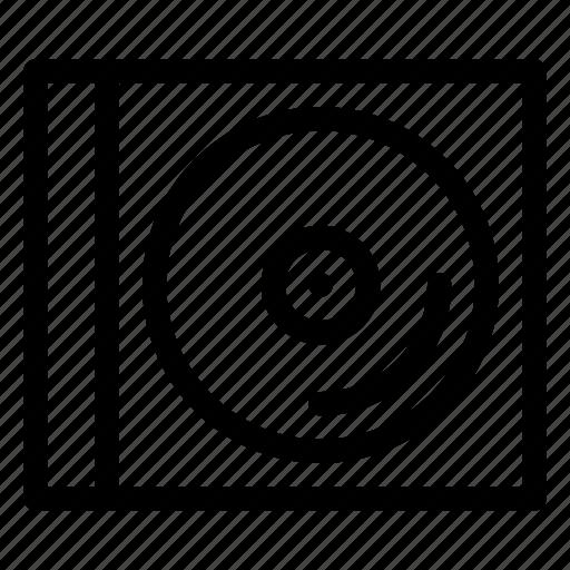 album, case, cd, cd-case, compact-disc, protector, storage icon
