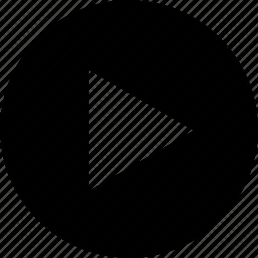 multimedia, music, play, start icon