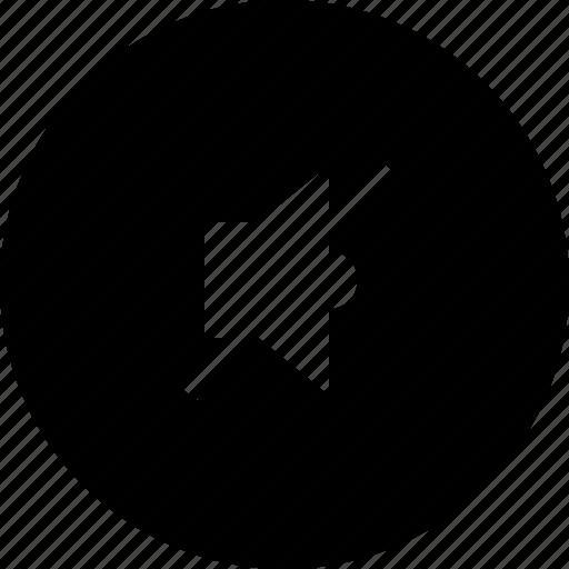 music, mute, sound, speaker icon
