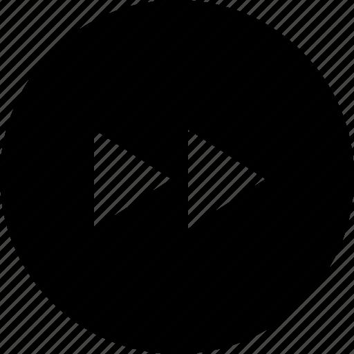 Forward, multimedia, music, next icon