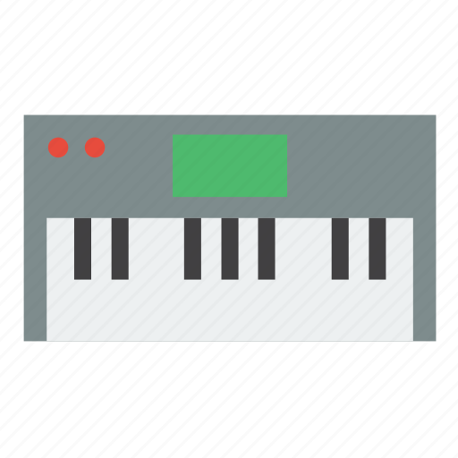 entertainment, instrument, keyboard, music, rhythm, sing, song icon