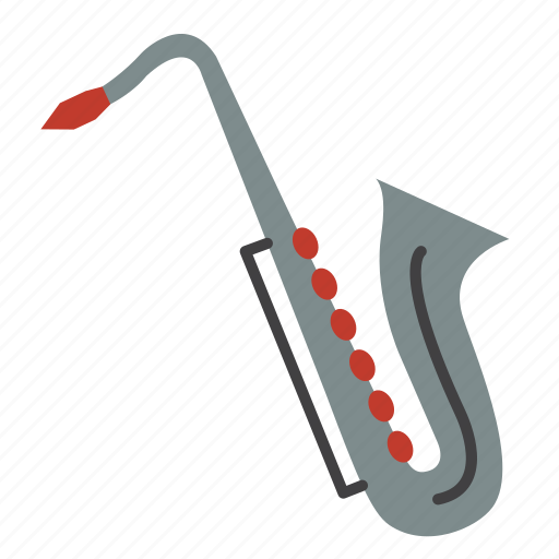 entertainment, instrument, music, rhythm, saxophone, sing, song icon