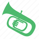 entertainment, instrument, music, rhythm, song, tuba, wind instruments icon