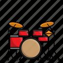 drum, drum set, instrument, music, orchestra