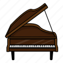 instrument, music, orchestra, piano