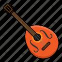 instrument, mandolin, music, percussion