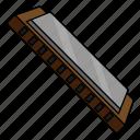harmonica, instrument, music, wind instrument