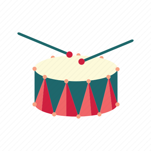 drum, drumsticks, musical instrument, orchestra, percussion icon