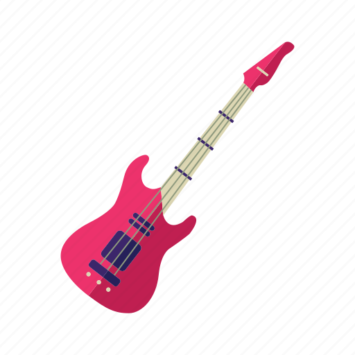 electric guitar, guitar, musical instrument, orchestra, string instrument icon