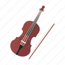 musical instrument, violin, string instrument, orchestra, classical icon