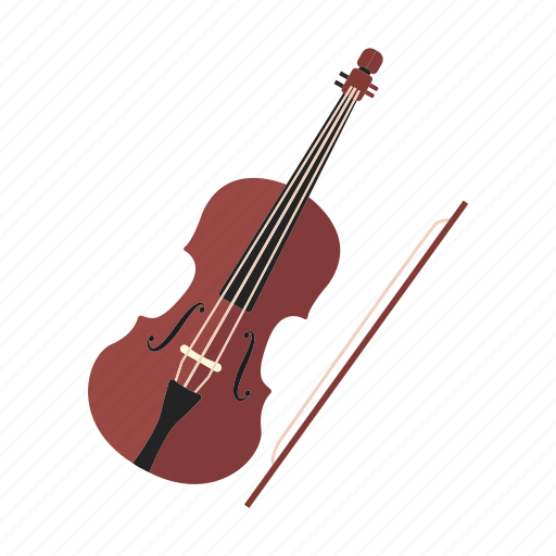 classical, musical instrument, orchestra, string instrument, violin icon